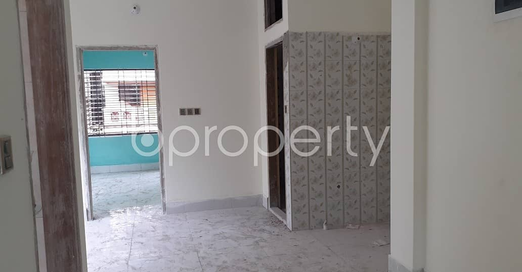 See This Comfortable 800 Sq. Ft Flat Is Available For Rent In Nikunja 2. And This Is Just What You Are Looking For In A Home!