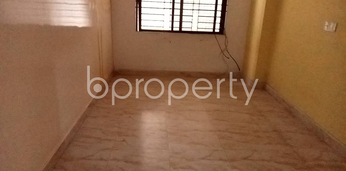 See This Comfortable 1100 Sq. Ft Flat Is Available For Rent In Ibrahimpur Bazar Road. And This Is Just What You Are Looking For In A Home!