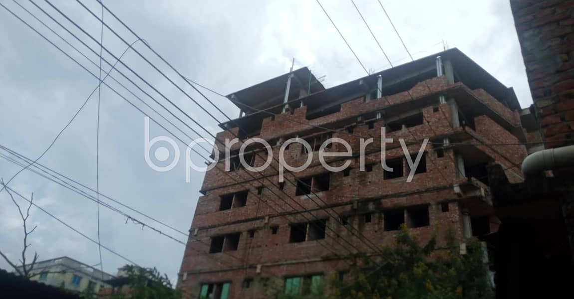 Convenient And Well-constructed 510 Sq. Ft Flat Is Ready For Rent At 38 No. South Middle Halishahar .