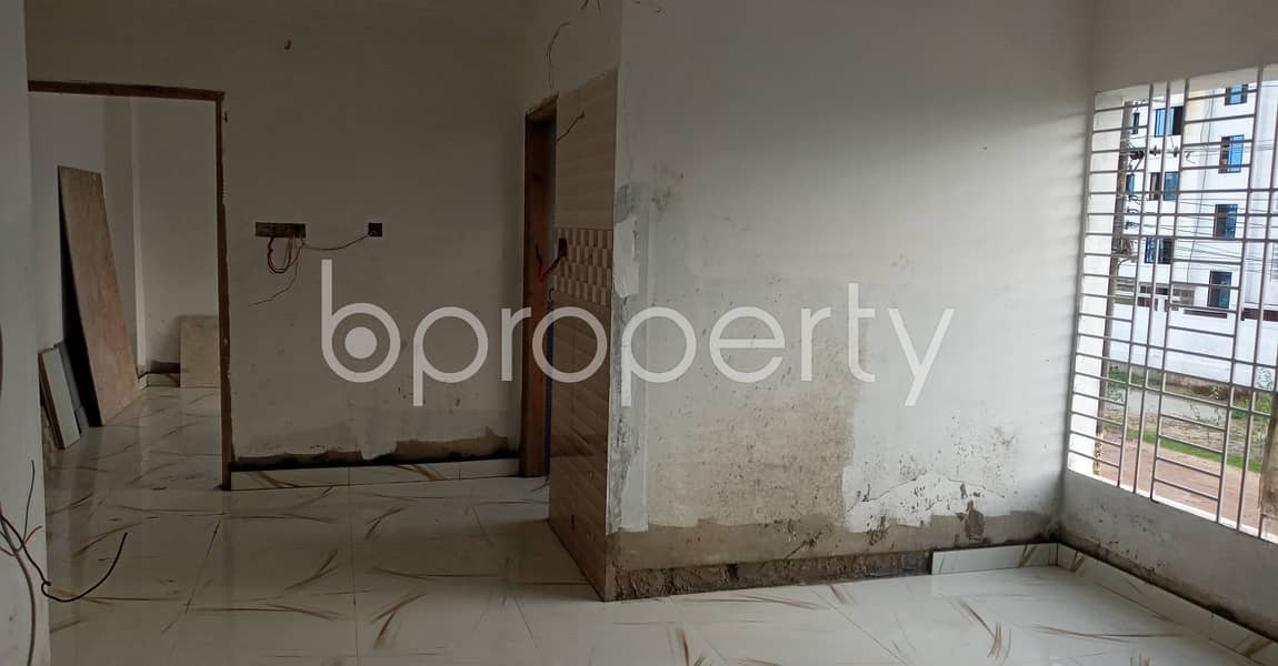 A Newly Constructed Apartment In Kolpolok R/a Is Available For Rent Which Is 950 Sq Ft