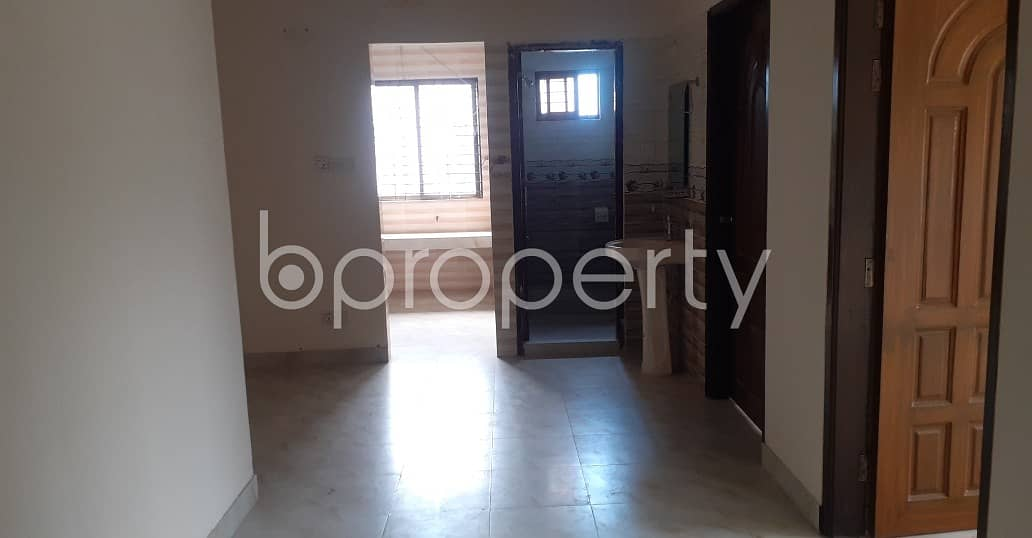 Start Your New Home, In This Reasonable And Comfortable 900 Sq. Ft Flat Which Is Up For Rent In Bordonbari.