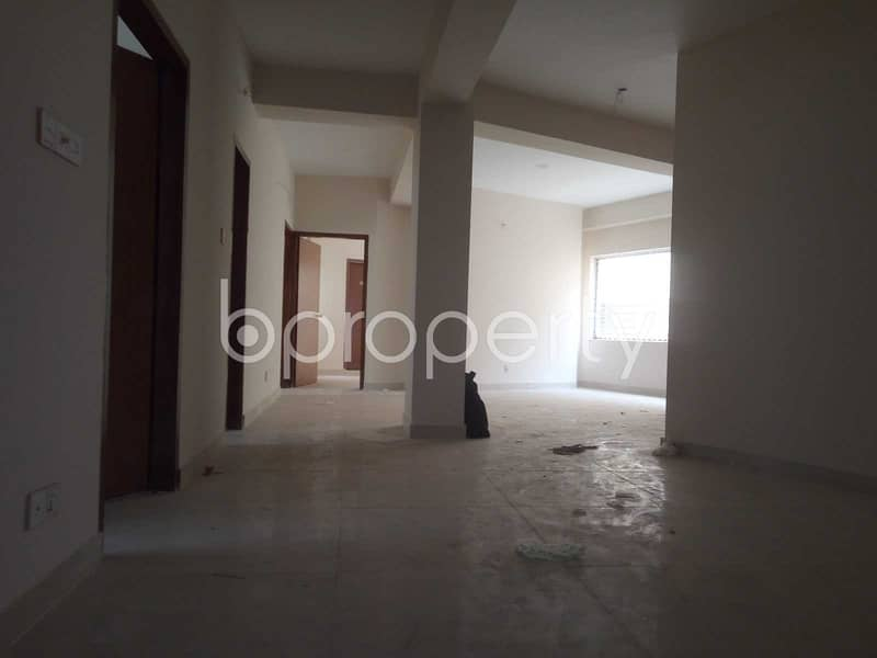 A Ready 1570 Sq. ft -4 Bedroom Apartment For Rent In Dhakeshwari Road.