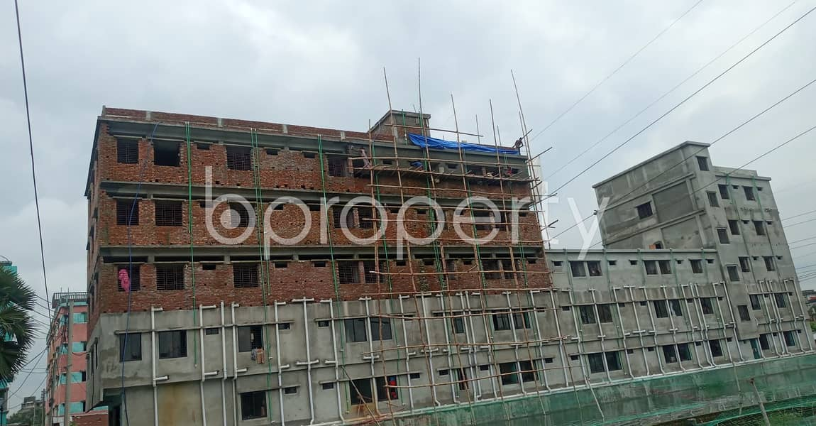 480 Sq Ft Flat Is Up For Rent At Your Convenient Location Of Halishahar