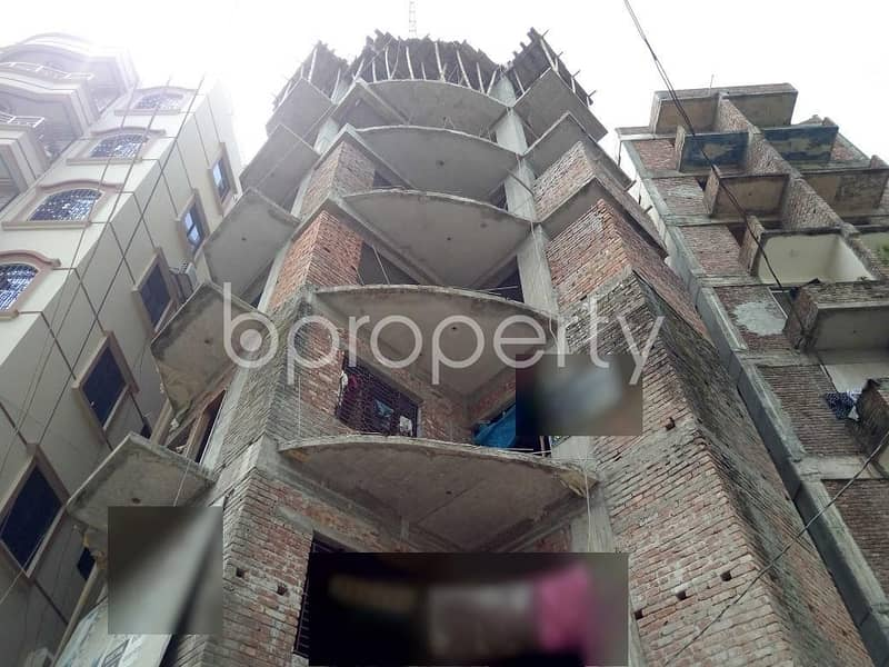At Turag, A Well Structure Flat Is Present For Sale