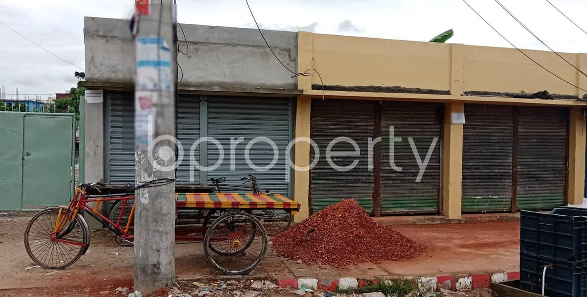 At Halishahar 150 Sq Ft Commercial Shop Is Available For Rent