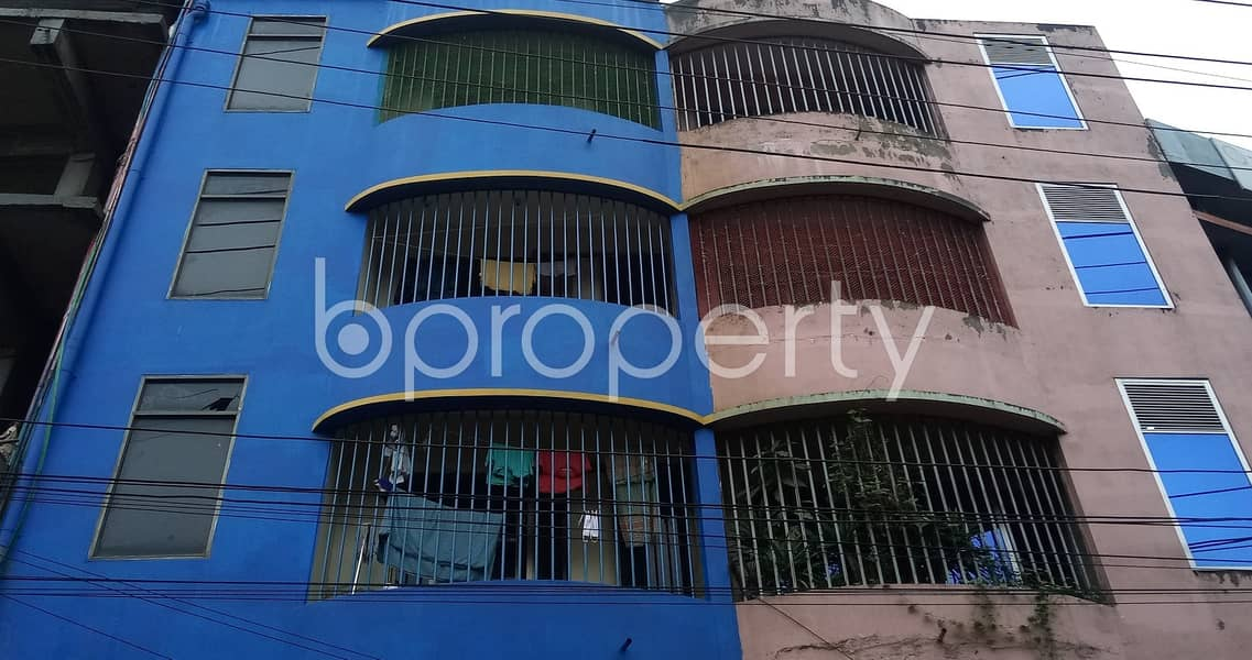 This 1 Bedroom Medium Size Apartment Is Now Vacant For Rent In Bahaddarhat .