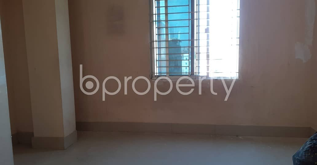 Comfortable, Convenient And Well-constructed 950 Sq. Ft Flat Is Ready For Rent At West Khulshi .