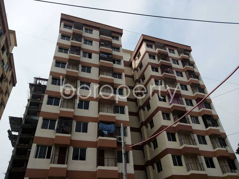 1224 Sq. Ft Apartment For Sale Is Located On Halishahar Housing Estate Near Hazrat Abu Bakar Siddique (R) Jame Masjid.