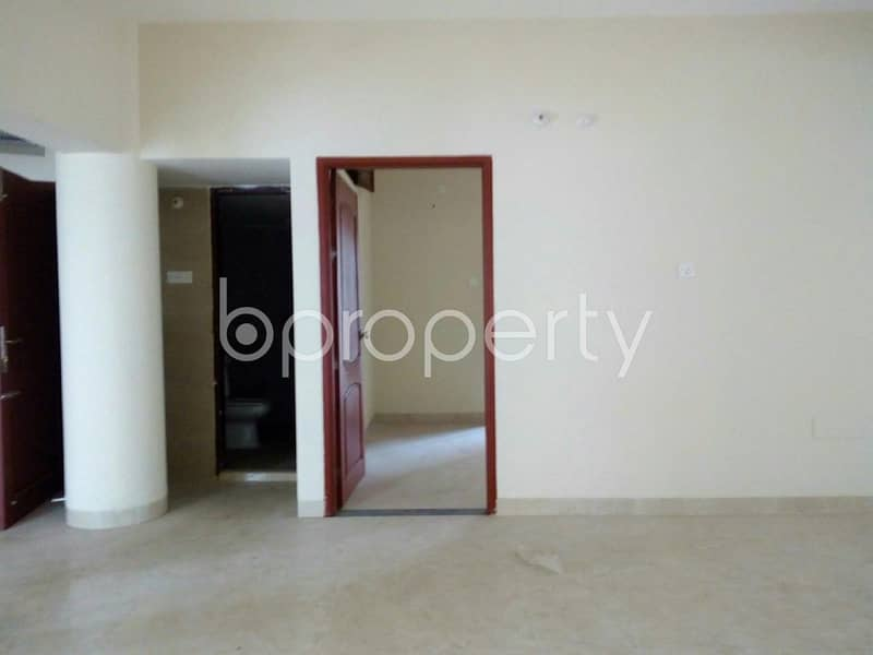 Live in a good-looking 2260 SQ FT flat for sale located at Nandan Kanan close to New Market