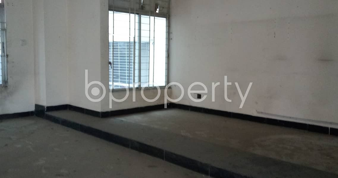 See this office space located in Kalabagan near to National Institute of Engineering Technology
