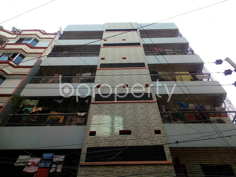 An affordable flat of 1000 SQ FT is available for sale at Mohammadpur near Chandrima Housing Primary School