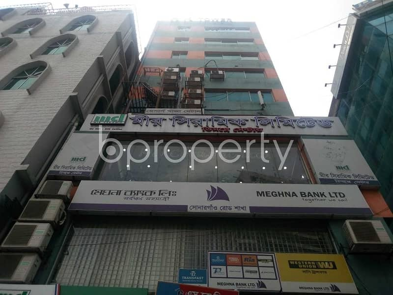 550 Sq. Ft. Ready Commercial Office For Rent In Hatirpool Near Kathalbagan Sonargaon Road