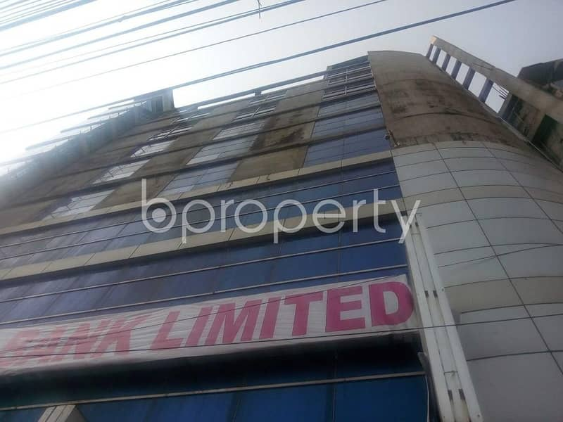 Commercial Building Is For Sale Which Is Located On Kakrail, Nearby Kakrail Masjid.