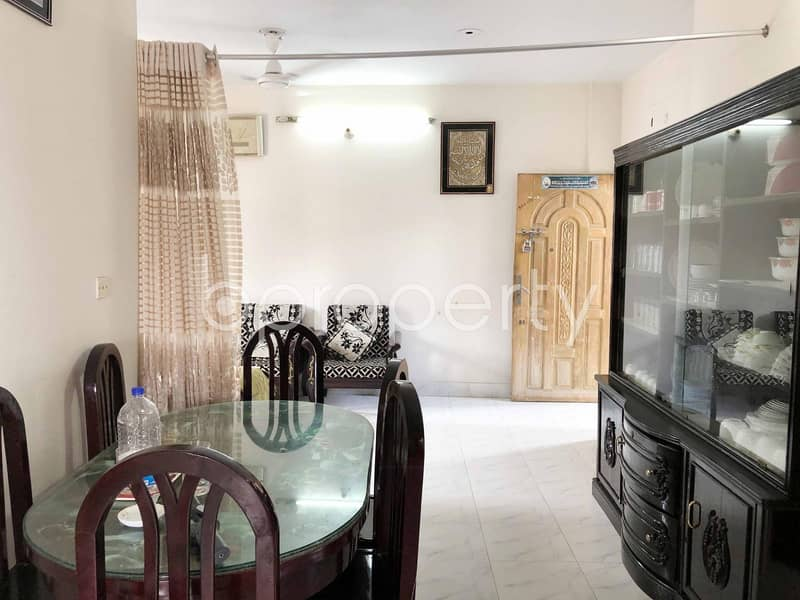 A Beautiful Apartment Is Up For Sale In Tilpapara Near Khilgaon Eidgah Mosque