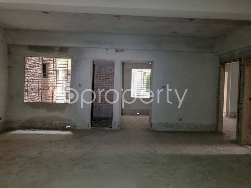 Well Planned Apartment for Sale In Tongi Nearby Mamdi Mollah High School