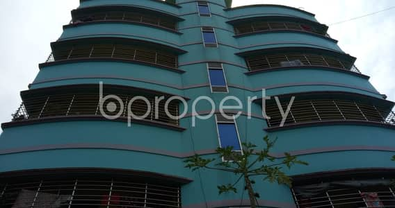 2 Bedroom Apartment for Rent in Hathazari, Chattogram - Experience The Emerald Green Views Of Nature From This Modest Flat Located In Hathazari, Aman Bazar