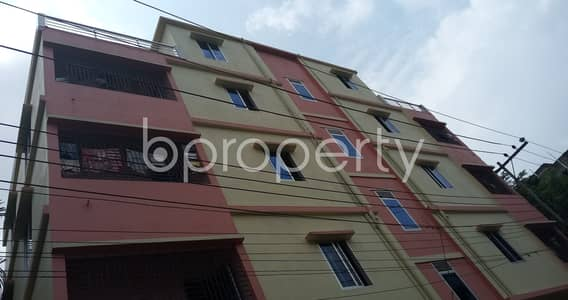 1 Bedroom Flat for Rent in Hathazari, Chattogram - Plan to move in this 600 SQ FT flat which is up to Rent in Aman Bazar