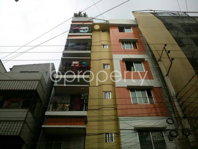 A well constructed 650 SQ FT flat is ready for sale in Mohammadpur close to Suchona Community