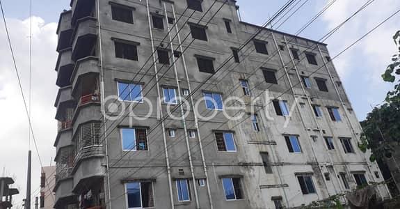 2 Bedroom Flat for Rent in Dakshin Khan, Dhaka - This suitable 600 SQ FT residential flat is waiting to get rented at Goaltek