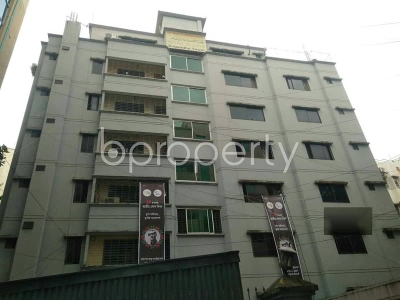 An Impressive 1450 Sq Ft Residential Apartment Is Up For Rent In The Center Of Sugandha Residential Area.