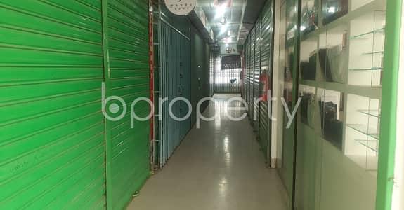 ভাড়ার জন্য এর দোকান - বসুন্ধরা আর-এ, ঢাকা - Grab This 130 Square Feet Shop Space Available To Rent In Bashundhara