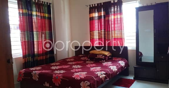 2 Bedroom Flat for Sale in Dakshin Khan, Dhaka - Start Your New Home, In This Reasonable And Comfortable Flat Which Is Up For Sale In Chalabon , Nearby Haji Billet Ali School.