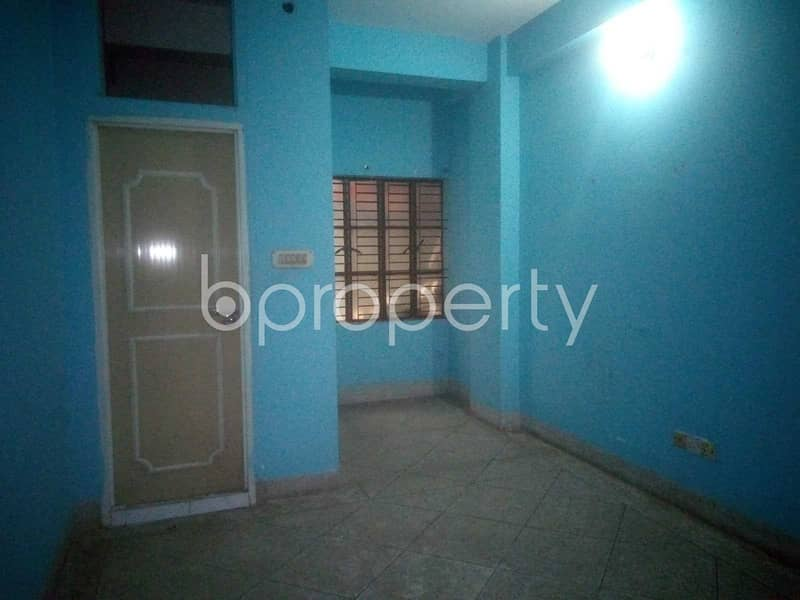 A Commercial Space Of 800 Sq. ft Is Available For Rent In Mirpur Nearby Baitul Mosharof Jame Masjid.