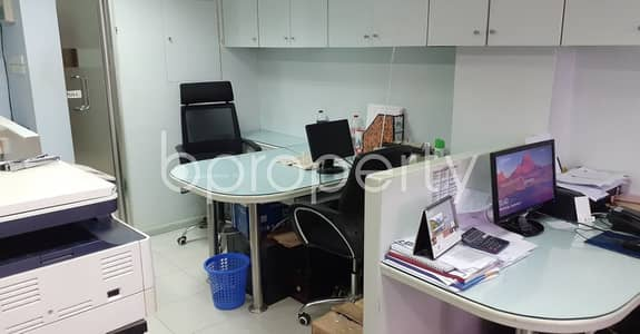 Office for Rent in Hatirpool, Dhaka - A Nice Full Furnished 665 Sqft Commercial Space For Rent In Bir Uttam C. r. Datta Road.