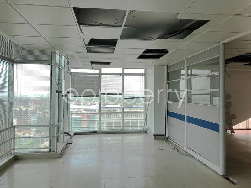 See This Remarkable Office Space For Rent Located In Shyamoli Near To Standard Chartered Bank (scb)