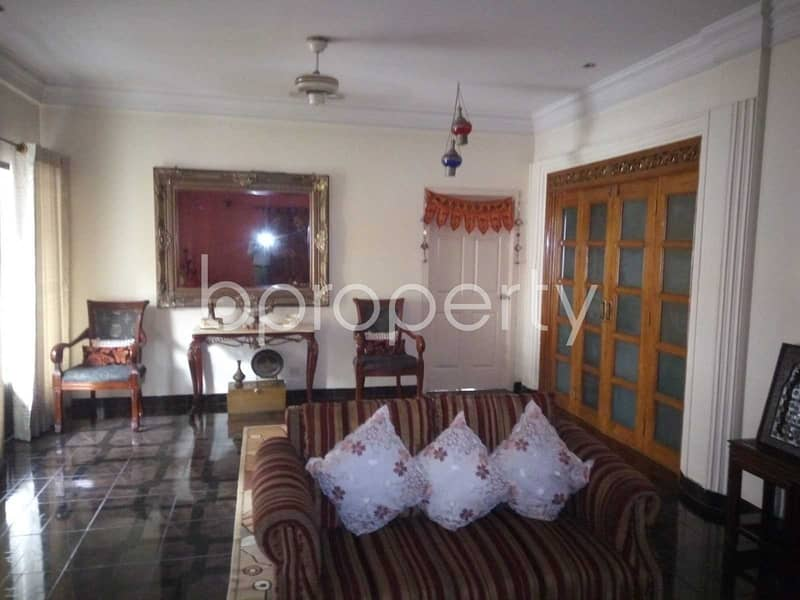 Start A New Home, In This Flat For Rent In Baridhara Dohs, Near Dohs Baridhara Masjid