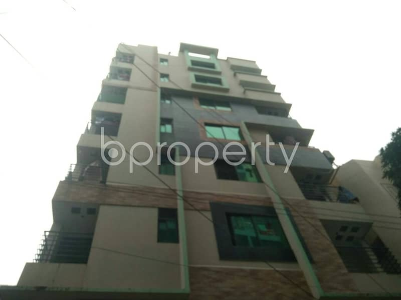 Tastefully Designed This Apartment Is Now Vacant For Rent In Sugandha Residential Area, Panchlaish