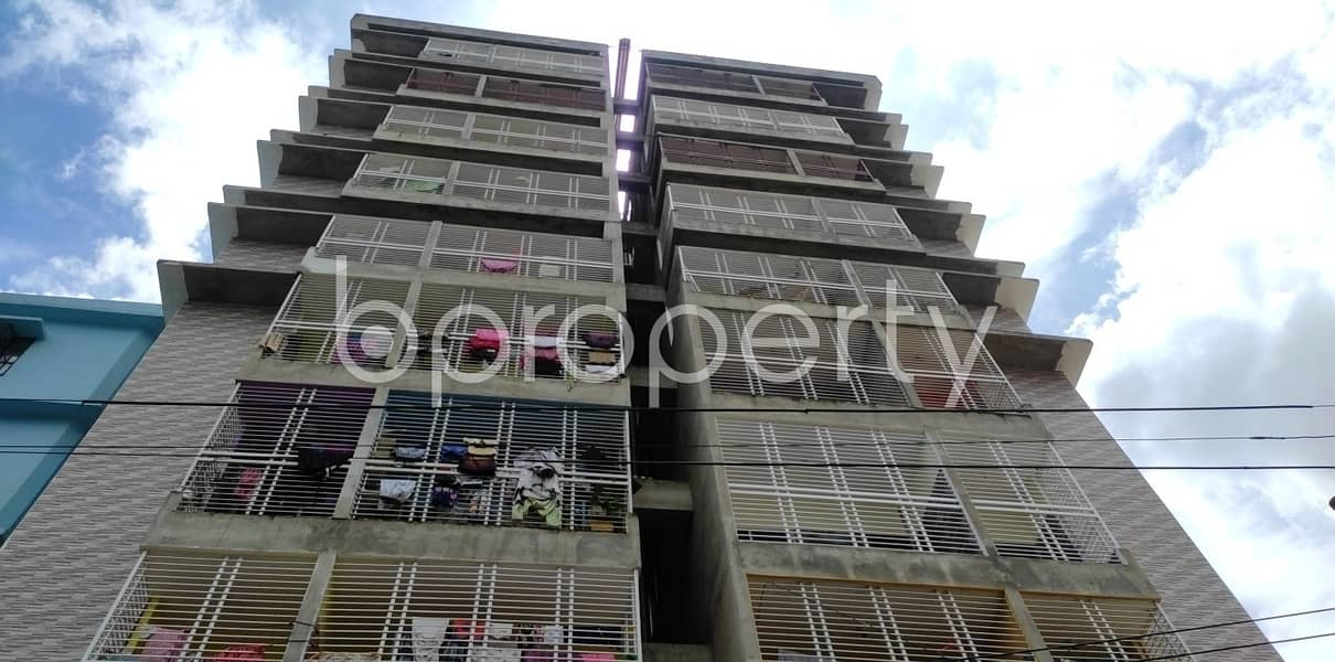 1440 Sq Ft Apartment Is Ready For Sale At Hill View R/a, Bayazid