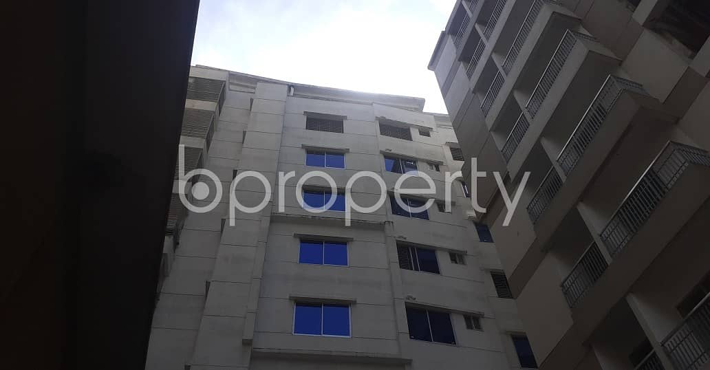 A well-featured rental 1400 SQ FT flat is ready for you to own at South Khulshi