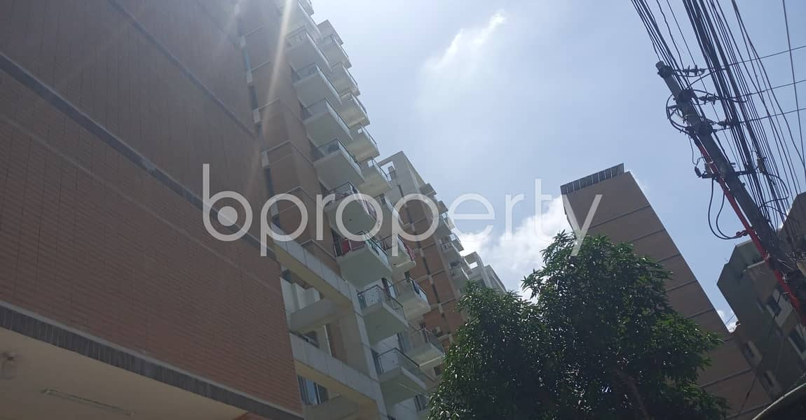 1545 Sq Ft Flat Is Available For Sale In Badda, Nurer Chala Road Close To Rajdhani Pilot High School
