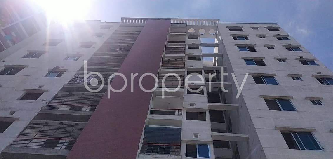 Experience A Cozy Homely Accommodation In This 986 Sq Ft Residential Flat For Sale In Badda, Vatara Near Nayanagar Baitul Mamur Jame Masjid