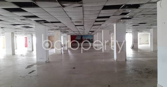 Floor for Rent in Nikunja, Dhaka - A 22,000 Sq Ft Commercial Open Space Is Available For Rent Which Is Located In Nikunja 2