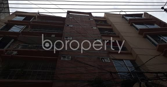 2 Bedroom Apartment for Rent in Hatirpool, Dhaka - Beautifully constructed 850 SQ FT flat is available to Rent in Hatirpool
