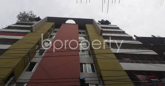 2 Bedroom Apartment for Rent in Adabor, Dhaka - Forge Ahead To Your Desirable Living By Renting This 800 Square Feet Flat In A Satisfactory Placement Like Baitul Aman Housing Society.