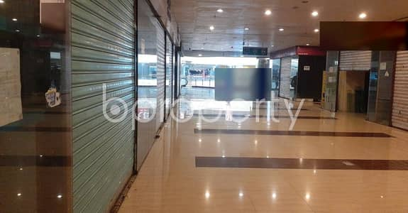 Shop for Rent in Bashundhara R-A, Dhaka - 259 Square Feet Commercial Shop For Rent At Bashundhara Road