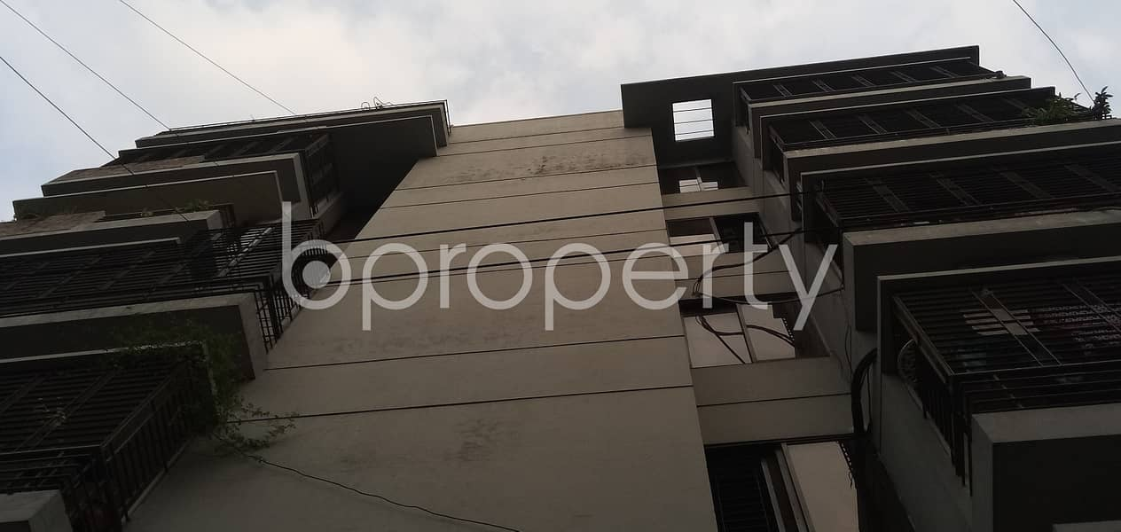Covering 1460 Sq Ft Space A Flat Is Up For Sale In Sector 3, Uttara Nearby Uttara Model Town Post Office