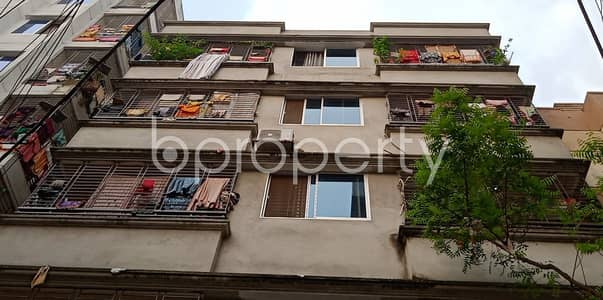 1 Bedroom Apartment for Rent in Banasree, Dhaka - In The Beautiful Neighborhood Of South Banasree Project, 1 Bedroom Flat Is Up For Rent