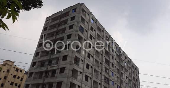 বিক্রয়ের জন্য BAYUT_ONLYএর ফ্ল্যাট - গাজীপুর সদর উপজেলা, গাজীপুর - 1240 Sq Ft Flat With Nice Balcony Views Is Set For Sale In Gazipur