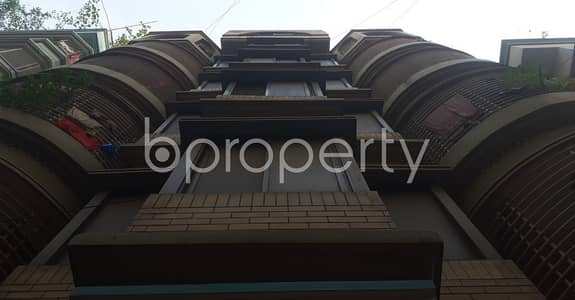 3 Bedroom Apartment for Rent in Banasree, Dhaka - Be the resident of this 1100 SQ FT flat vacant for rent at Banasree