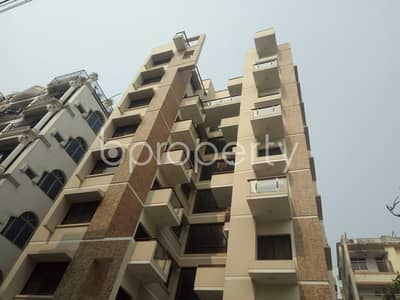 A Beautiful Building Is Up For Rent At Bashundhara Near Viquarunnisa Noon School And College
