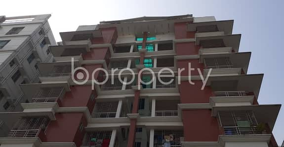 An Apartment Is Up For Sale At Bashundhara R-A, Near Bashundhara Boro Masjid