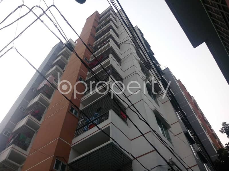 This Ready Apartment At Khilgaon, Near Abdullah Jame Masjid Is Up For Sale.