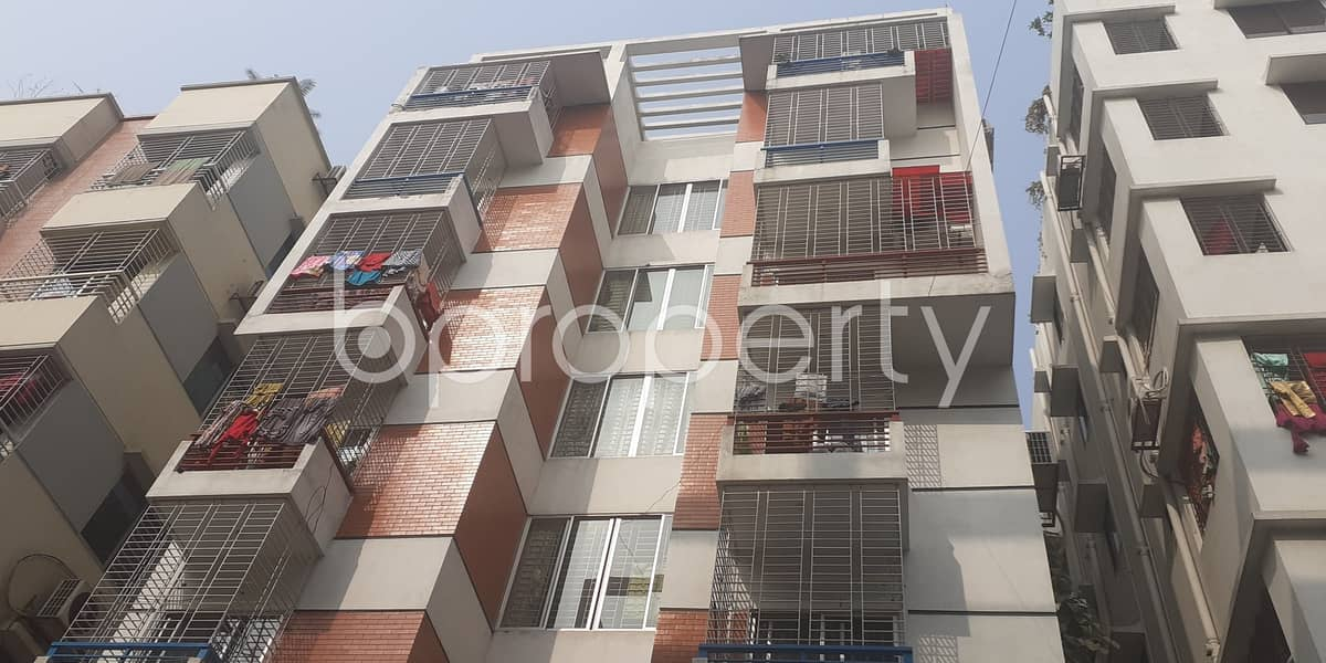 To Change Your Place Of Residence, Rent The Apartment Placed In Bashundhara R-A