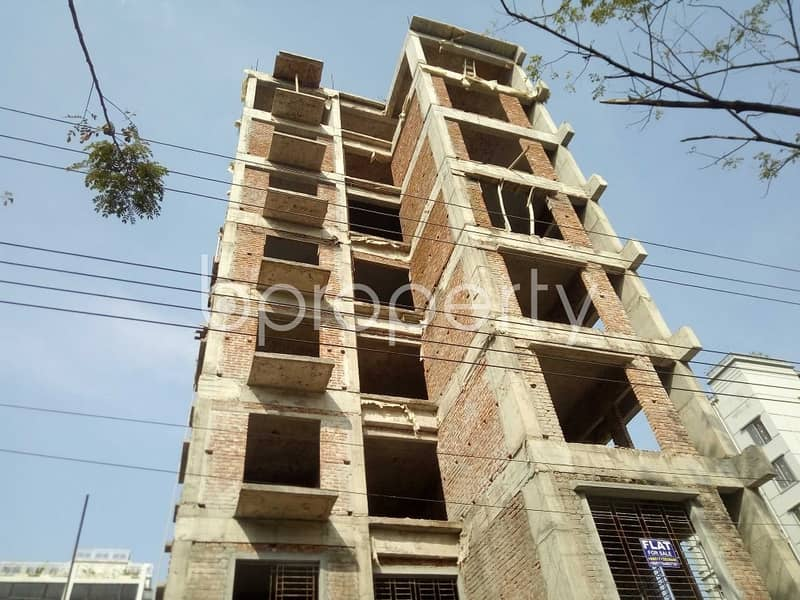 Flat For Sale Covering A Beautiful Area In Bashundhara Nearby Bashundhara Eye Hospital