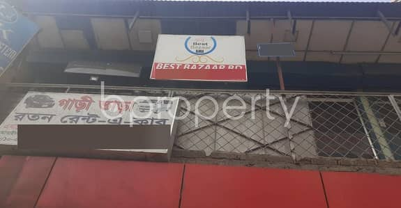 Acquire This Shop Which Is Up For Rent In Shyamoli Near Adabar Police Station