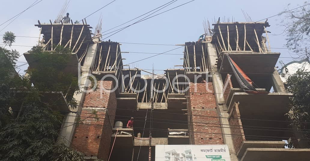 An Apartment Up For Sale Is Located At Uttara, Near To Asian University Of Bangladesh